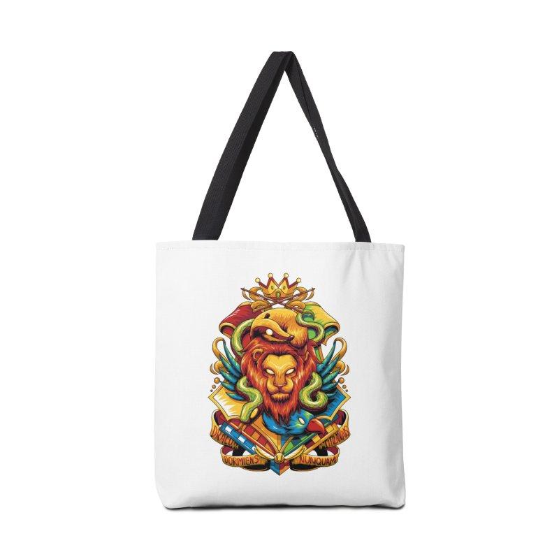 School of Magic Accessories Bag by anggatantama's Artist Shop