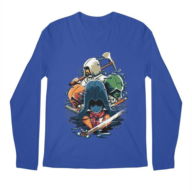 The Assassins Men's Longsleeve T-Shirt by anggatantama's Artist Shop