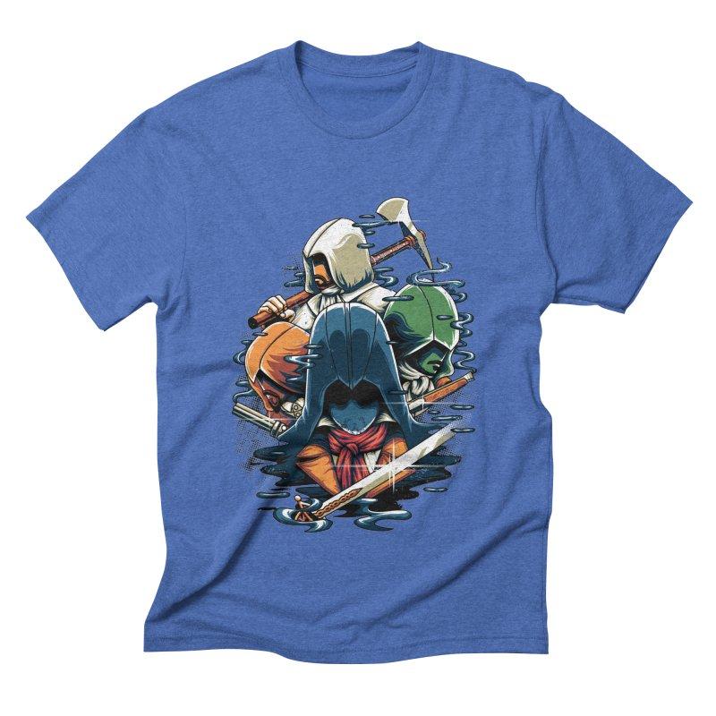 The Assassins Men's Triblend T-shirt by anggatantama's Artist Shop
