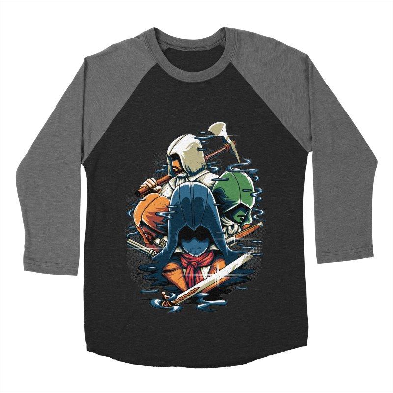 The Assassins Men's Baseball Triblend T-Shirt by anggatantama's Artist Shop