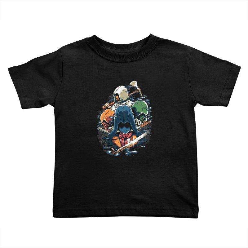 The Assassins Kids Toddler T-Shirt by anggatantama's Artist Shop
