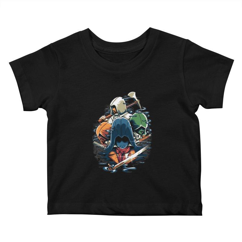 The Assassins Kids Baby T-Shirt by anggatantama's Artist Shop