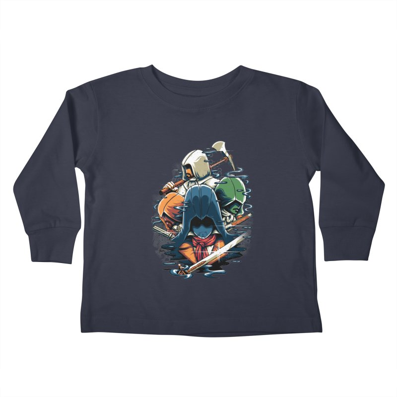The Assassins Kids Toddler Longsleeve T-Shirt by anggatantama's Artist Shop