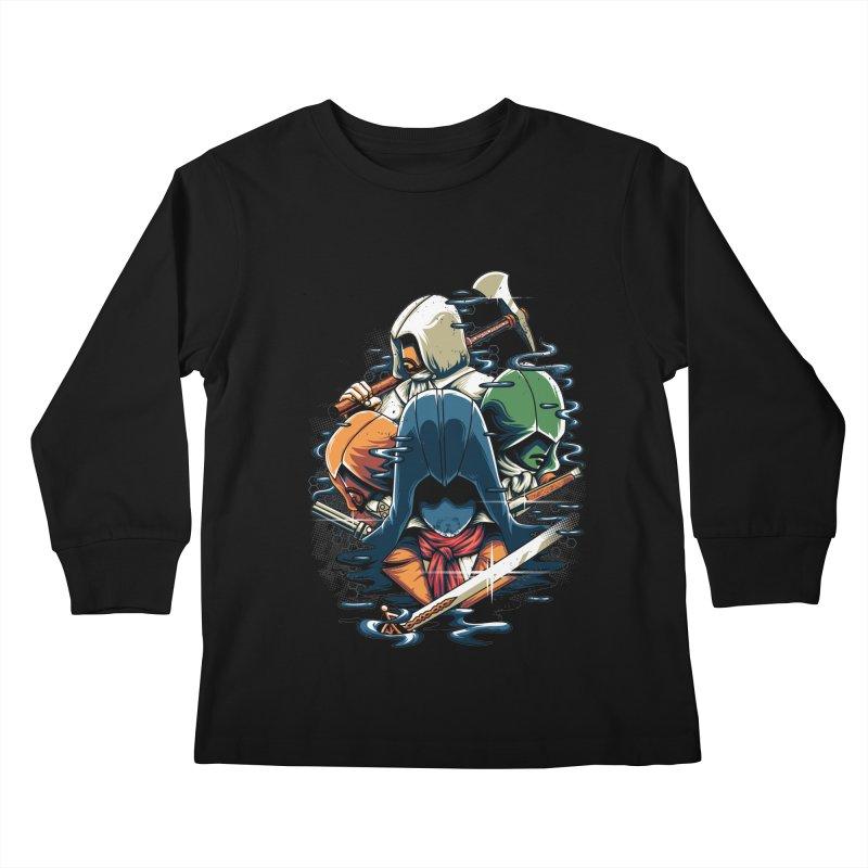 The Assassins Kids Longsleeve T-Shirt by anggatantama's Artist Shop
