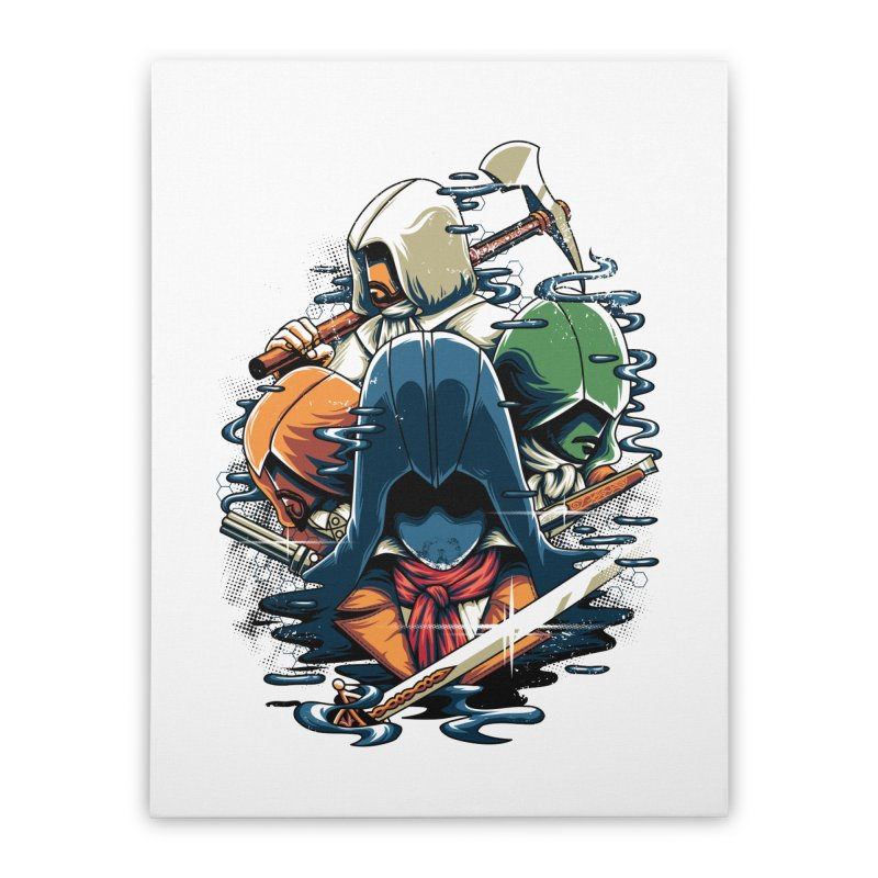 The Assassins Home Stretched Canvas by anggatantama's Artist Shop