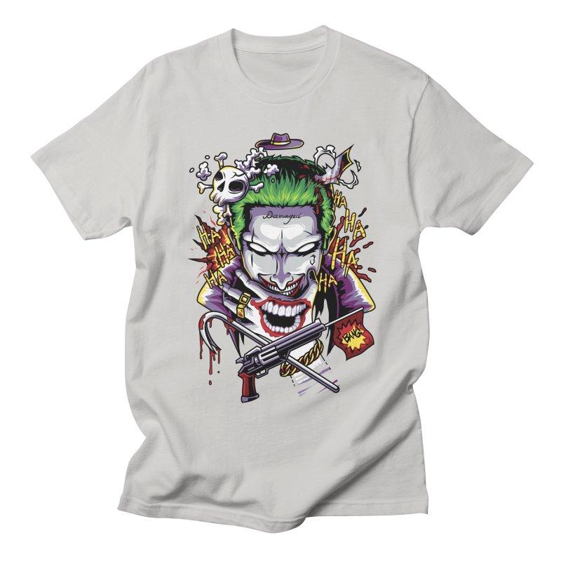 Don't Be Serious! Men's T-shirt by anggatantama's Artist Shop