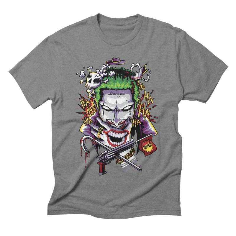 Don't Be Serious! Men's Triblend T-Shirt by anggatantama's Artist Shop