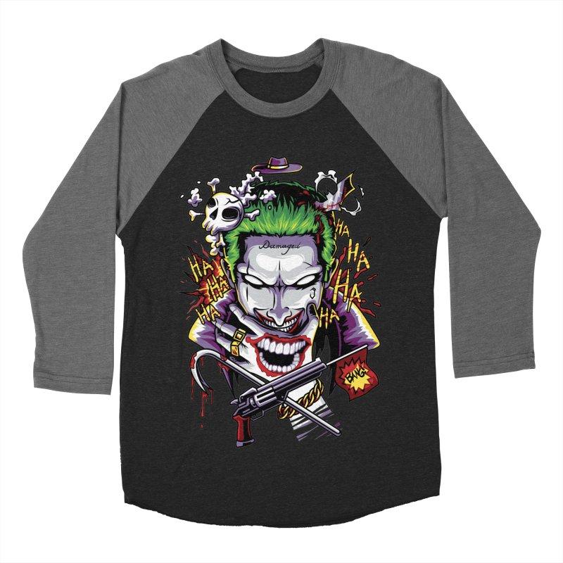 Don't Be Serious! Men's Baseball Triblend T-Shirt by anggatantama's Artist Shop