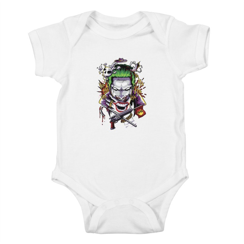 Don't Be Serious! Kids Baby Bodysuit by anggatantama's Artist Shop