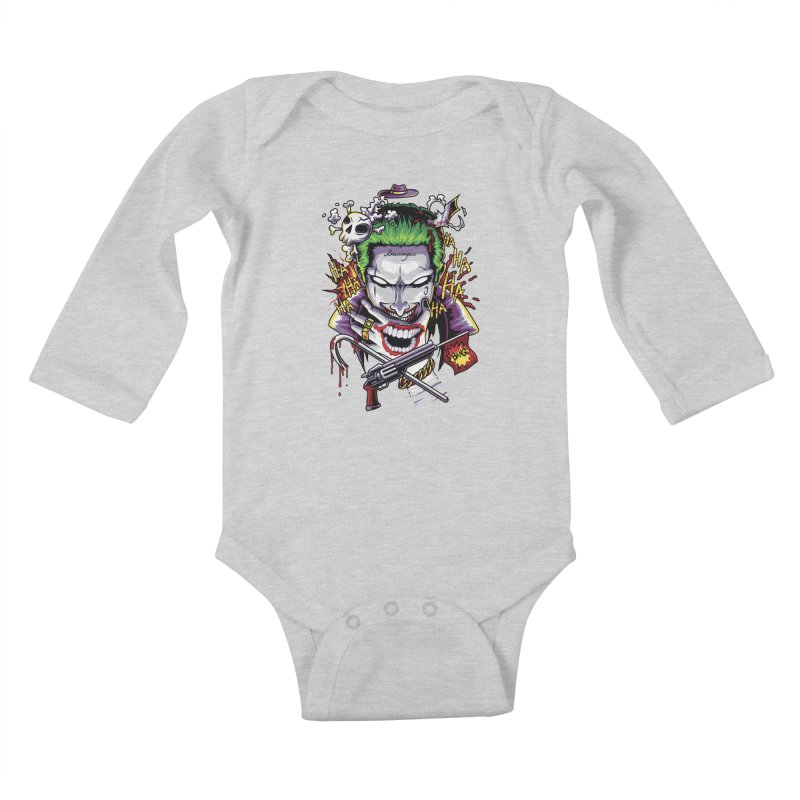 Don't Be Serious! Kids Baby Longsleeve Bodysuit by anggatantama's Artist Shop