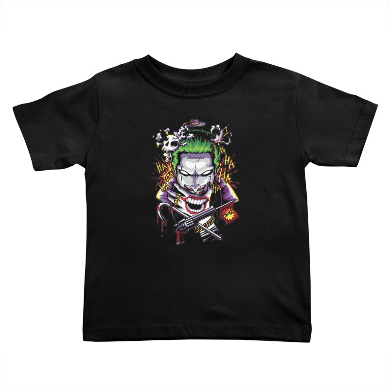 Don't Be Serious! Kids Toddler T-Shirt by anggatantama's Artist Shop