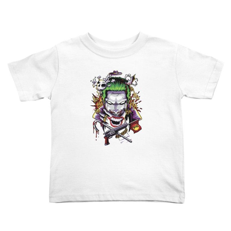 Don't Be Serious! Kids Toddler T-Shirt by anggatantama's Artist Shop