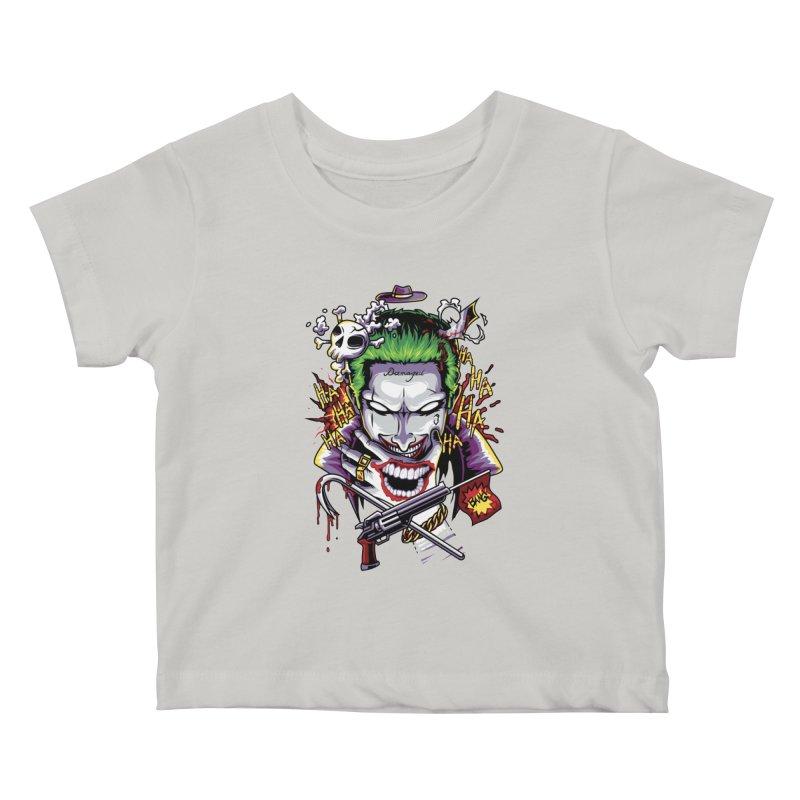 Don't Be Serious! Kids Baby T-Shirt by anggatantama's Artist Shop