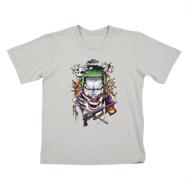 Don't Be Serious! Kids T-shirt by anggatantama's Artist Shop