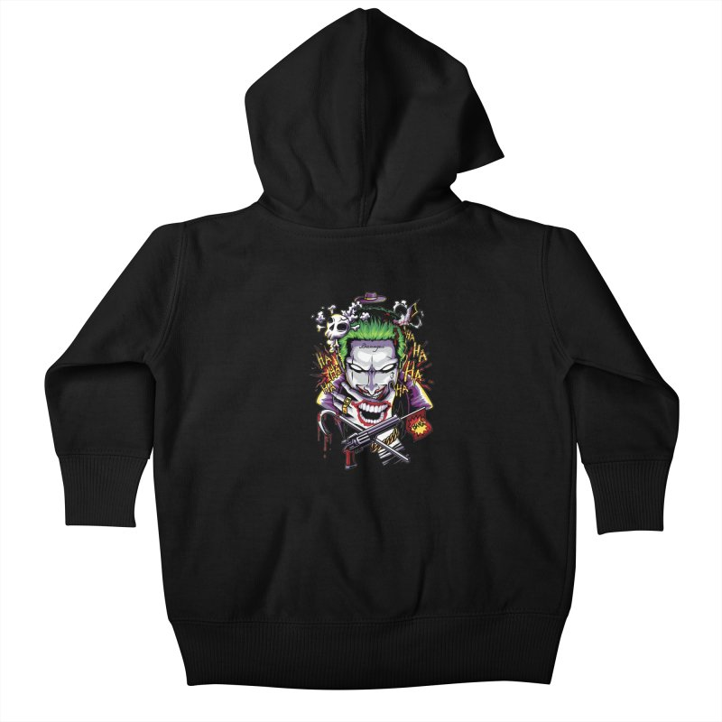 Don't Be Serious! Kids Baby Zip-Up Hoody by anggatantama's Artist Shop