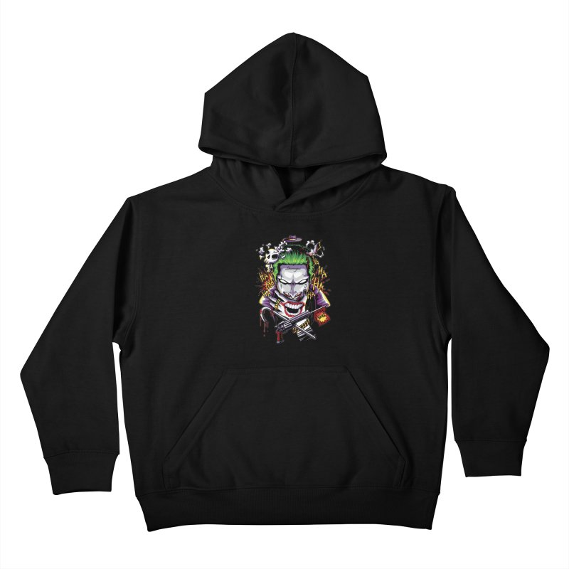 Don't Be Serious! Kids Pullover Hoody by anggatantama's Artist Shop