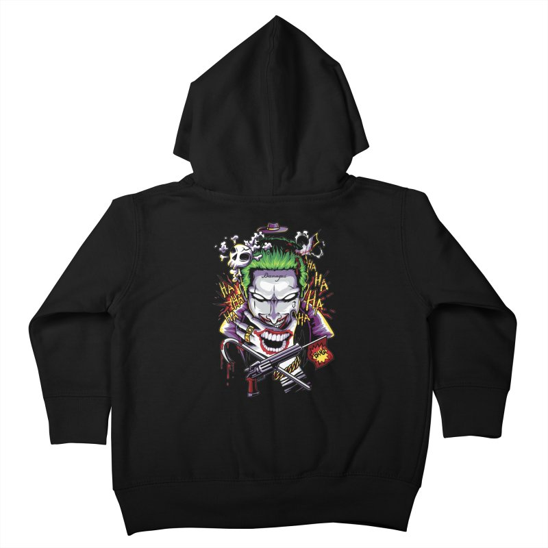 Don't Be Serious! Kids Toddler Zip-Up Hoody by anggatantama's Artist Shop