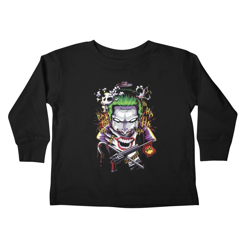 Don't Be Serious! Kids Toddler Longsleeve T-Shirt by anggatantama's Artist Shop