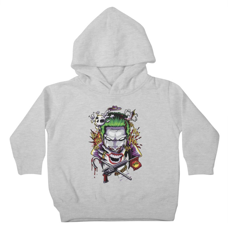 Don't Be Serious! Kids Toddler Pullover Hoody by anggatantama's Artist Shop