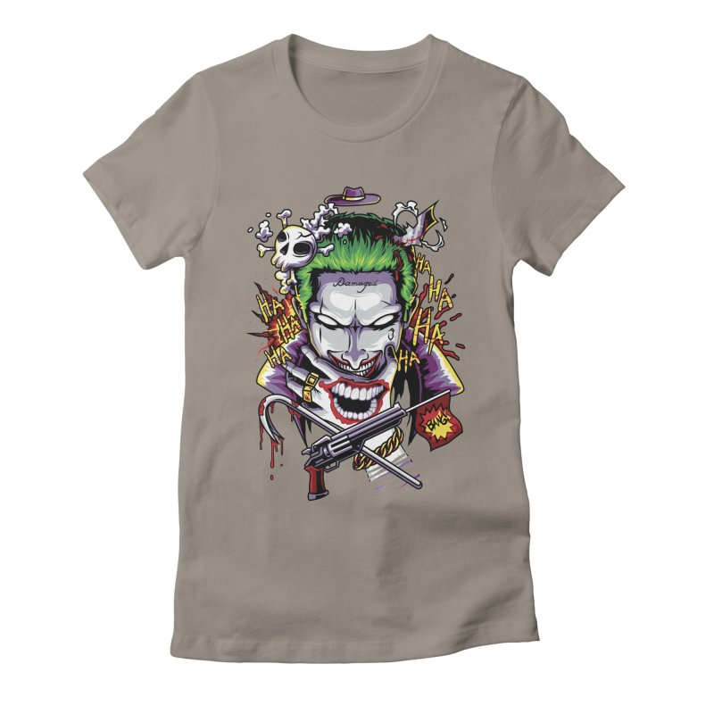 Don't Be Serious! Women's Fitted T-Shirt by anggatantama's Artist Shop