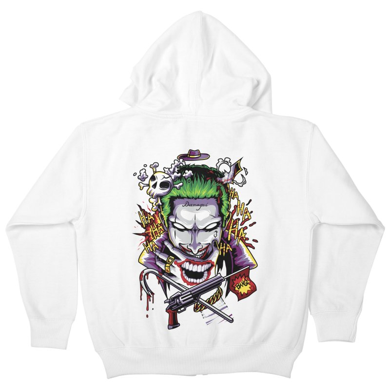 Don't Be Serious! Kids Zip-Up Hoody by anggatantama's Artist Shop