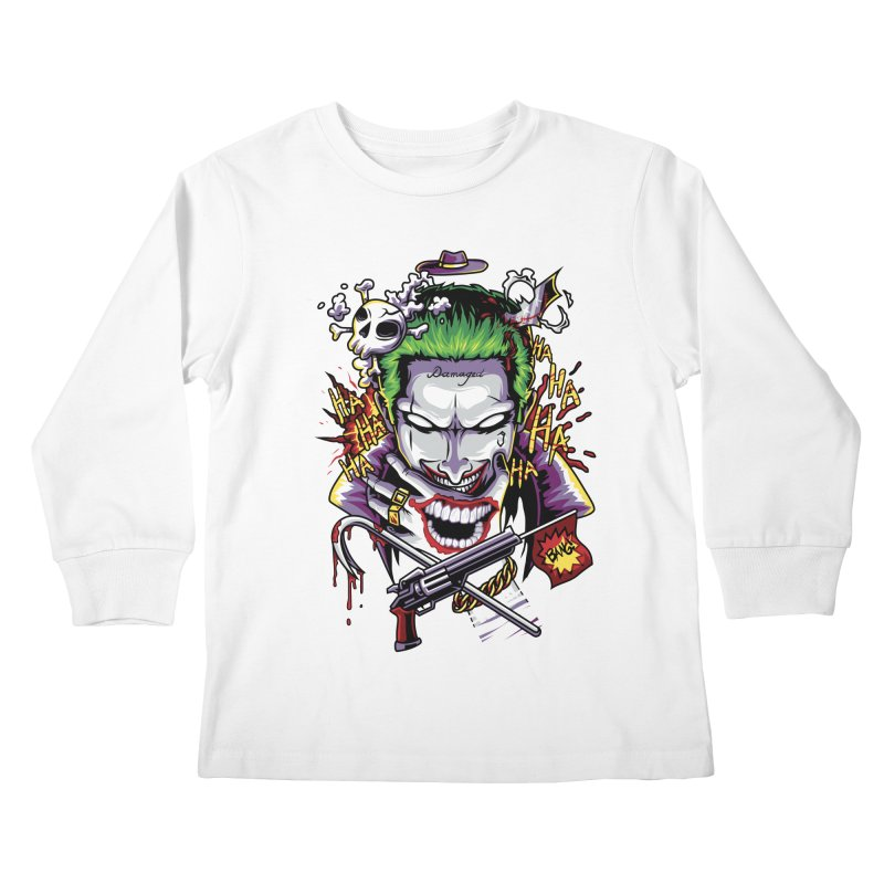 Don't Be Serious! Kids Longsleeve T-Shirt by anggatantama's Artist Shop