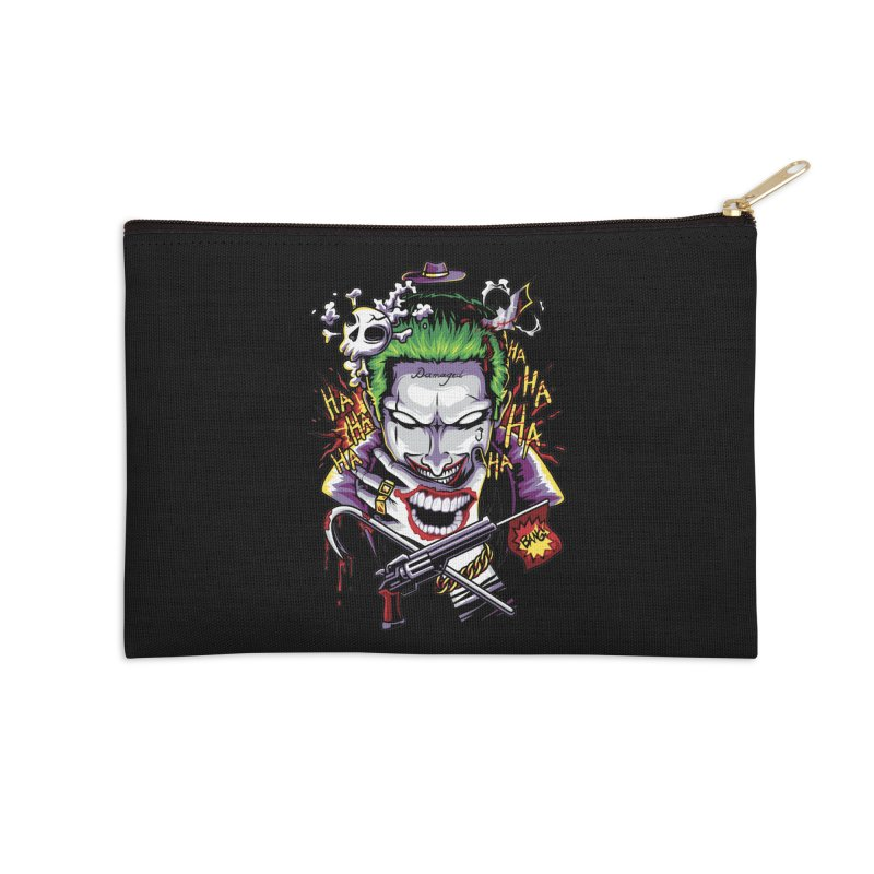 Don't Be Serious! Accessories Zip Pouch by anggatantama's Artist Shop