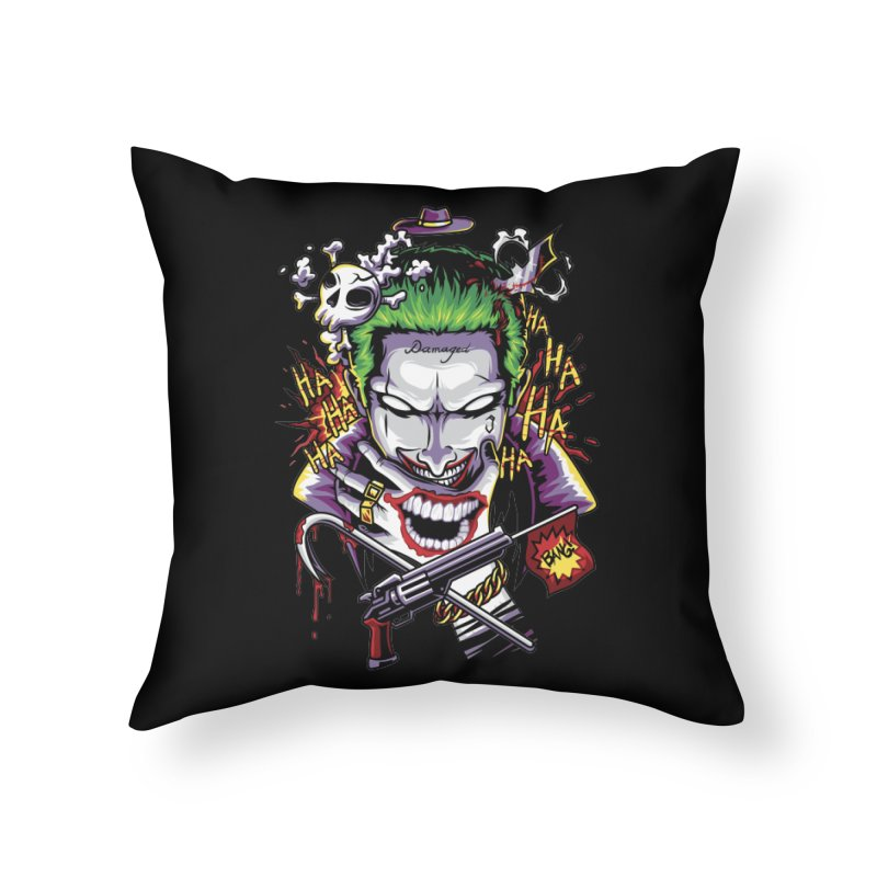 Don't Be Serious! Home Throw Pillow by anggatantama's Artist Shop