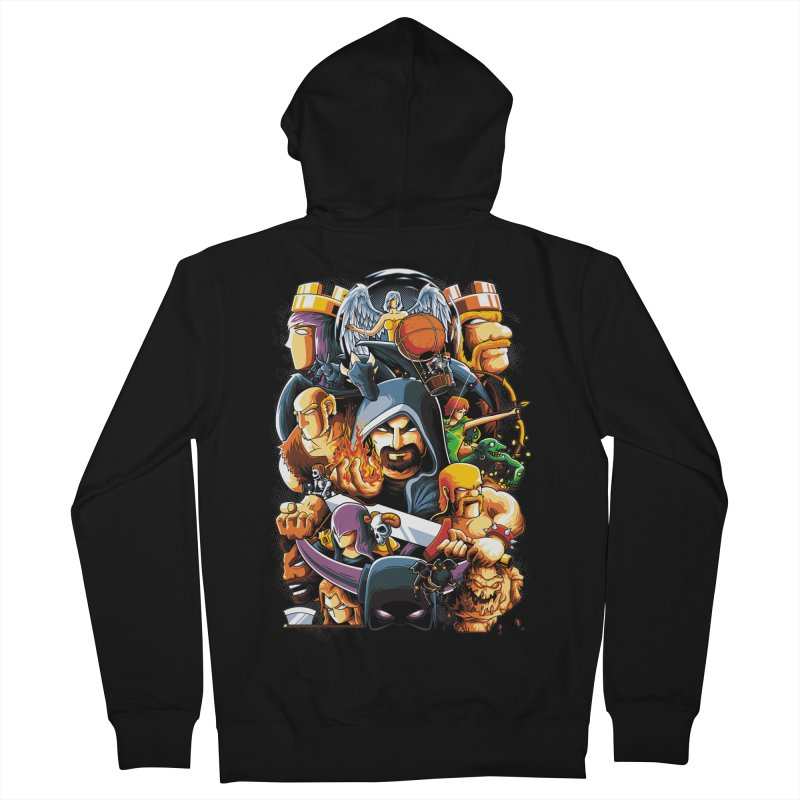 Time to War Men's Zip-Up Hoody by anggatantama's Artist Shop