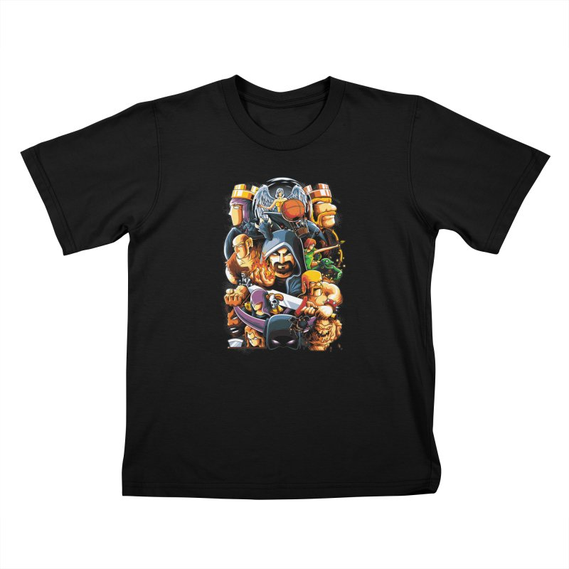Time to War Kids Toddler T-Shirt by anggatantama's Artist Shop