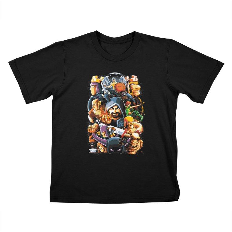 Time to War Kids T-shirt by anggatantama's Artist Shop