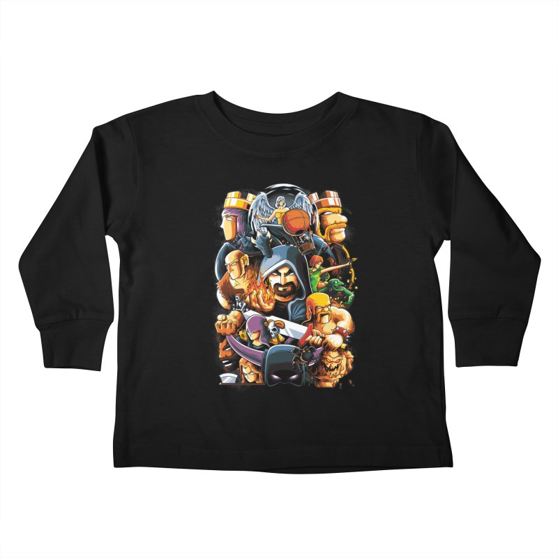 Time to War Kids Toddler Longsleeve T-Shirt by anggatantama's Artist Shop