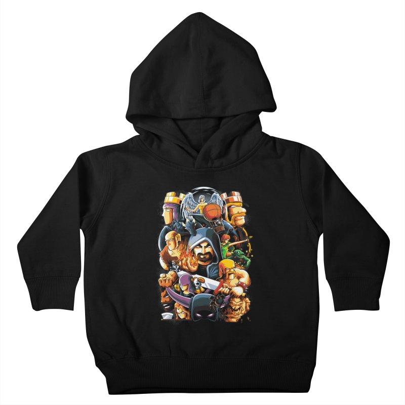 Time to War Kids Toddler Pullover Hoody by anggatantama's Artist Shop