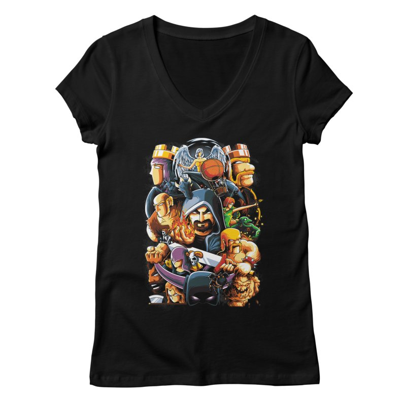 Time to War Women's V-Neck by anggatantama's Artist Shop
