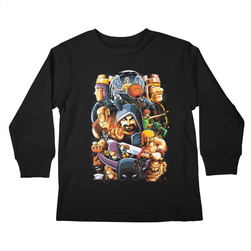 Time to War Kids Longsleeve T-Shirt by anggatantama's Artist Shop