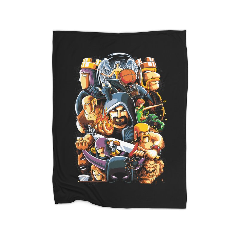 Time to War Home Blanket by anggatantama's Artist Shop