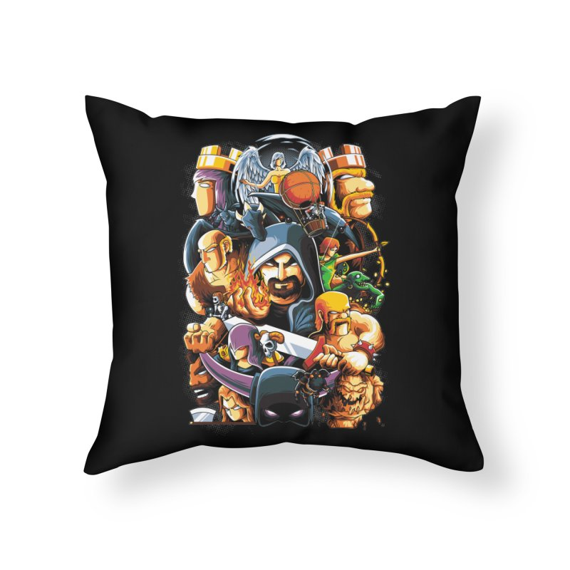 Time to War Home Throw Pillow by anggatantama's Artist Shop