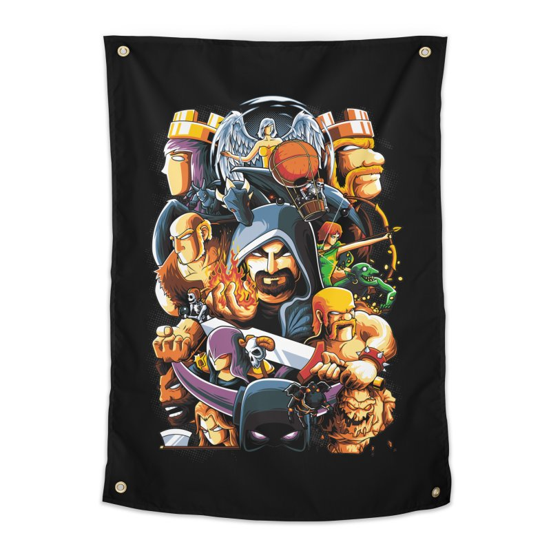 Time to War Home Tapestry by anggatantama's Artist Shop
