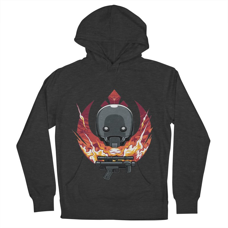 Rebellion Droid Women's Pullover Hoody by anggatantama's Artist Shop