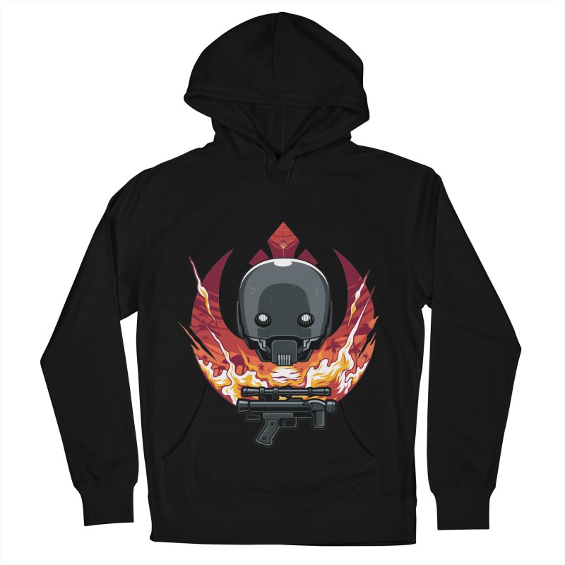 Rebellion Droid Men's Pullover Hoody by anggatantama's Artist Shop