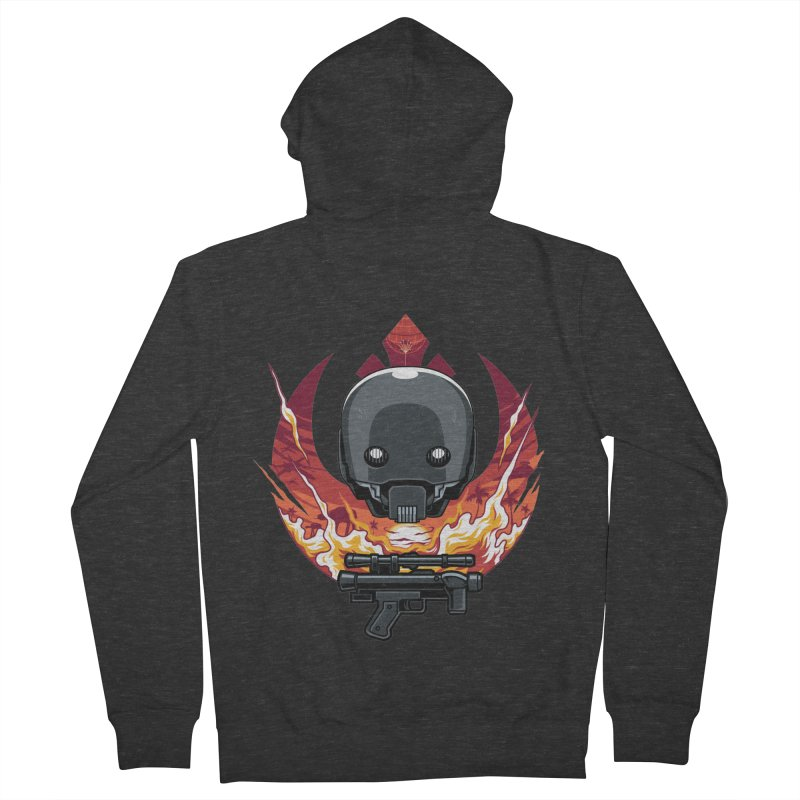 Rebellion Droid Women's Zip-Up Hoody by anggatantama's Artist Shop