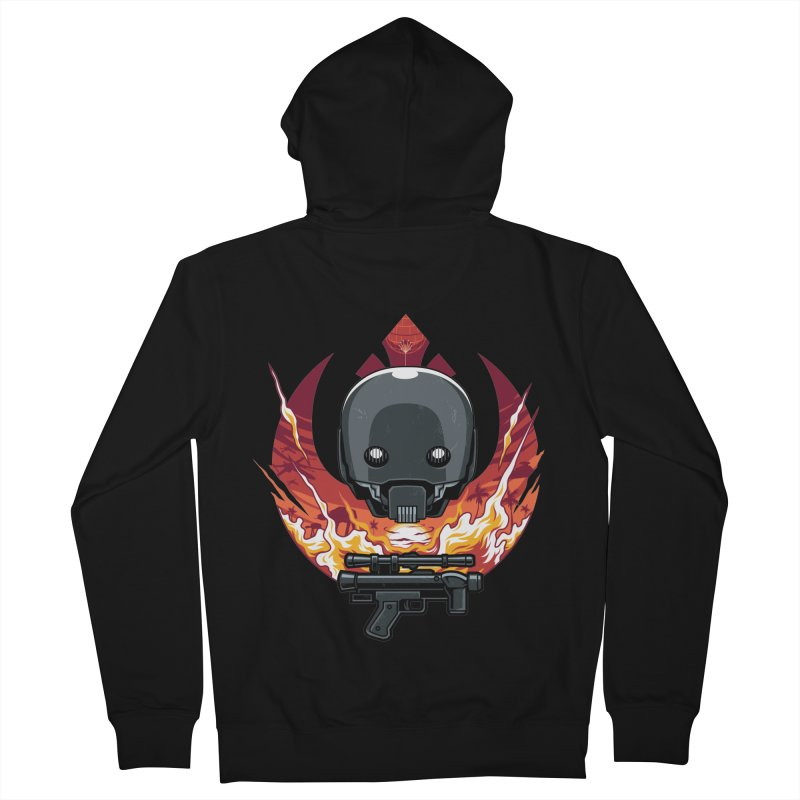 Rebellion Droid Men's Zip-Up Hoody by anggatantama's Artist Shop