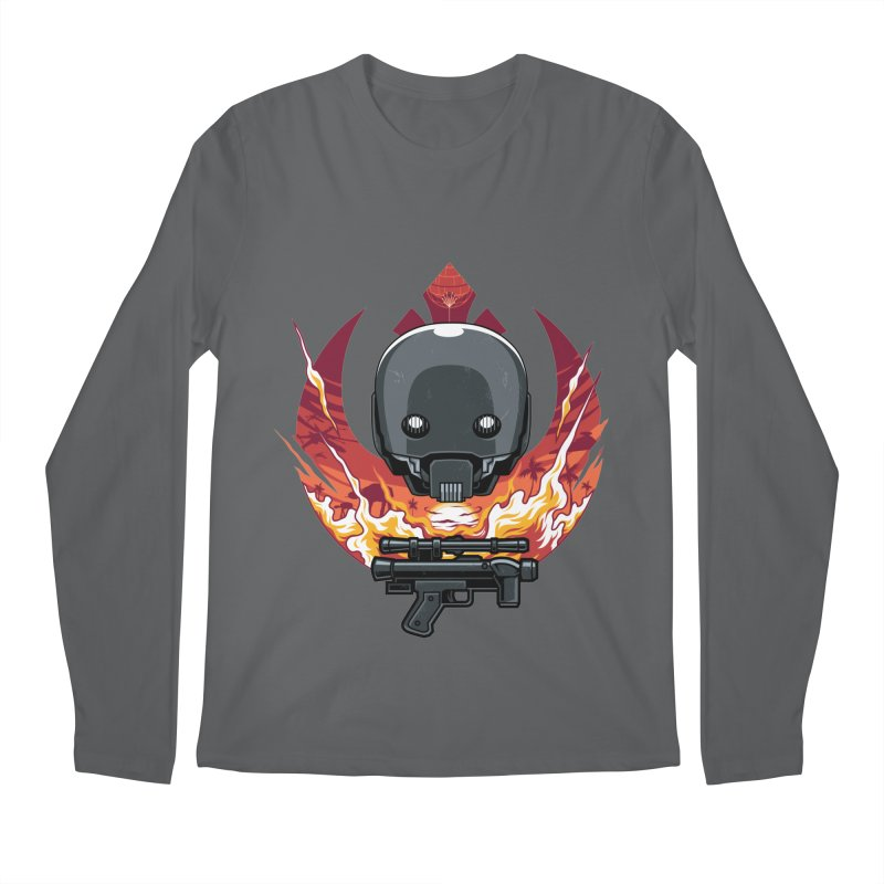 Rebellion Droid Men's Longsleeve T-Shirt by anggatantama's Artist Shop
