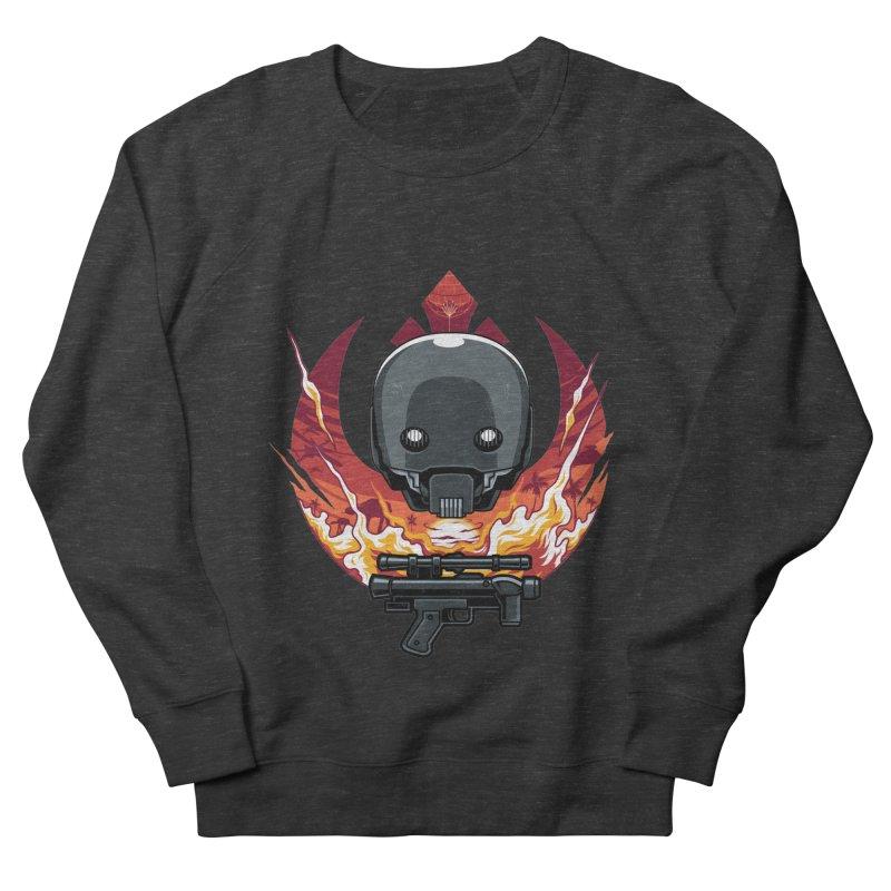 Rebellion Droid Men's Sweatshirt by anggatantama's Artist Shop