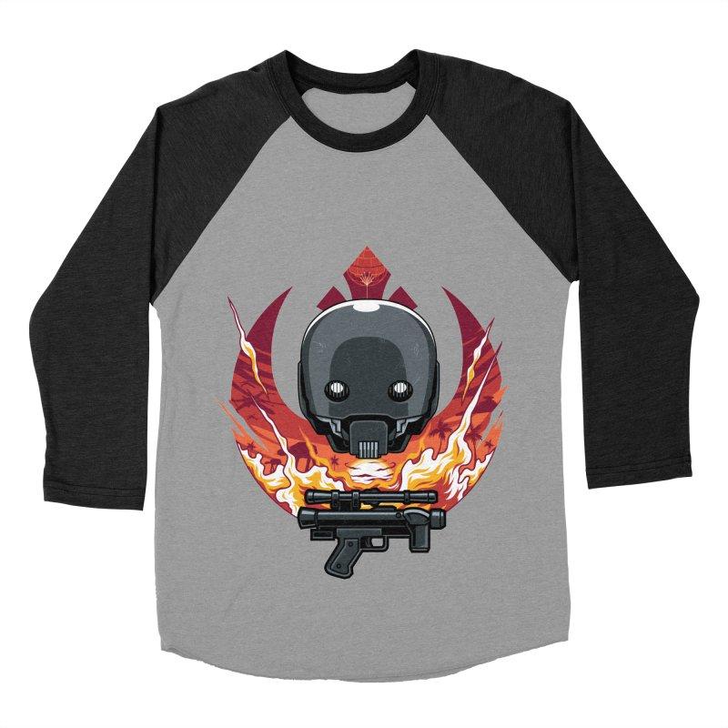 Rebellion Droid Women's Baseball Triblend T-Shirt by anggatantama's Artist Shop