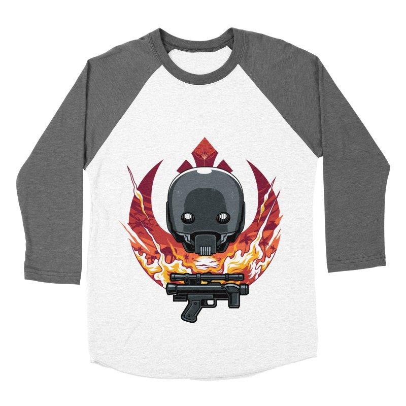 Rebellion Droid Men's Baseball Triblend T-Shirt by anggatantama's Artist Shop