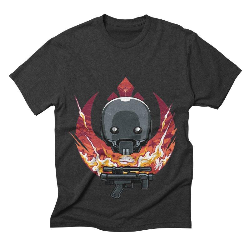 Rebellion Droid Men's Triblend T-shirt by anggatantama's Artist Shop