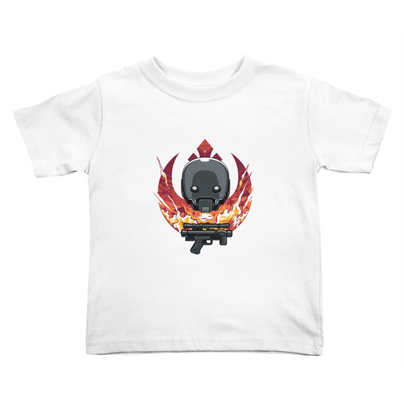 Rebellion Droid Kids Toddler T-Shirt by anggatantama's Artist Shop