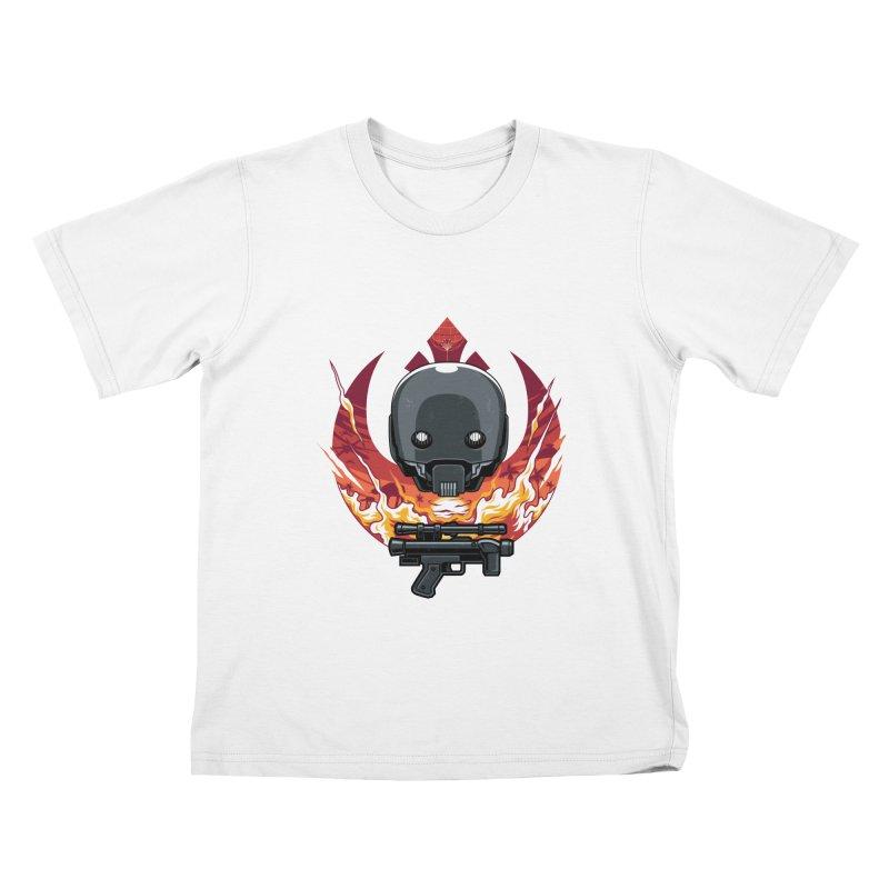 Rebellion Droid Kids T-shirt by anggatantama's Artist Shop