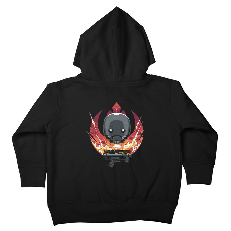 Rebellion Droid Kids Toddler Zip-Up Hoody by anggatantama's Artist Shop